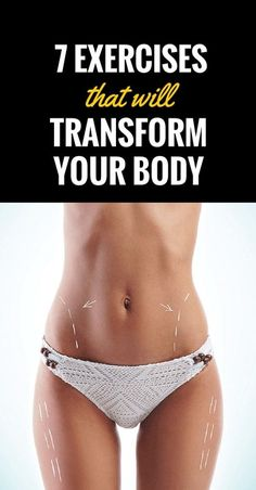 A transformation of your body doesn't necessarily need to happen over six months of rigorous training in the gym. With just a few simple exercises, you can change the way you look and reach y…