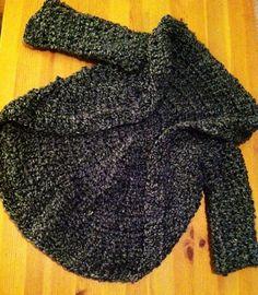 Crochet Toddler Swing Sweater