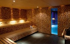 Sauna-, Spa- und Wellness-Referenzen: Holmes Place; Sauna