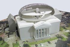 maquette voor Museum Fundatie Zwolle van Bierman Henket architecten   TIVK