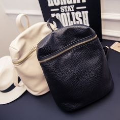 casual small solid preppy style tote rucksack fashion ladies party women purse famous designer bags girl student school backpack * Clicking on the image will lead you to find similar product
