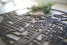 Papurino | home decor | wooden city maps | Finnish design | interior design | Scandinavian design