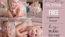 Pretty in Pink Free Lightroom Preset by Nikki Oliver Photoshop For Photographers, Photoshop Photography, Photoshop Actions, Love Photography, Pretty Presets, Black And White Portraits, Lightroom Presets, Pretty In Pink, Photo Editing