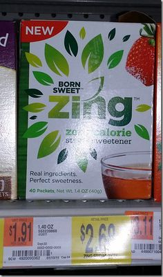 Zing Sweetener Just