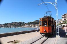 These tram drivers in Port de Soller, Mallorca, Spain, do not move over for cyclists. Couple that with the tracks they run on and the place could be a night mare for cyclists - but isn't.  That said, the place is also very stunning.  THEBIKESHED-Tetbury.net