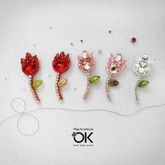 Восьмимартовские тюльпаны-броши в ассортименте) Очень миниатюрные, ширина самого цветочка 2 см, длина 5,5. Нет в наличии. #брошьтюльпан #tulips #брошьвналичии #брошьручнаяработа #весна #8марта #новосибирск #краснообск #jewelry #jewels #fashion #gems #stones #trendy #accessories #love #crystals #beautiful #style #fashionista #accessory #instajewelry #stylish #cute #jewelrygram #fashionjewelr #swarovski #подаркиручнойработы