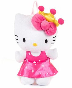 Hello Kitty Princess Plush Backpack. Original price: $19.98. PRICE WITH HONEY: $8.15  #HoneyFinds (07/01/13)