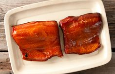 Step by step instructions on how to smoke salmon at home. This is a hot smoked salmon recipe. Use king, silver, sockeye, pink, chum or Atlantic salmon. Grilling Recipes, Fish Recipes, Meat Recipes, Seafood Recipes, Chorizo, Maple Syrup Recipes, Smoked Salmon Recipes, Smoked Fish, Smoking Recipes