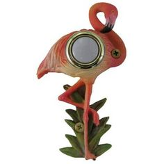 flamingo doorbell cover - for my house!!