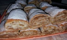 Strudel, Romanian Desserts, Romanian Food, Sweet Recipes, Cake Recipes, Bread And Pastries, Russian Recipes, Food Cakes, Sweet Memories