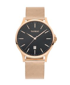 Tayroc – The Classic – TXM109 – Rose Gold Meshband