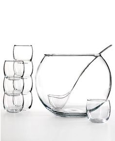 amazingly simple punch bowl and stemless goblet classes to serve up your fave drinks for guests #registerforit #macys #weddingchickspicks http://www1.macys.com/shop/wedding-registry/product/the-cellar-10-piece-punch-bowl-set?ID=393359&cm_mmc=BRIDAL-_-CARAT-_-n-_-WCPinterest