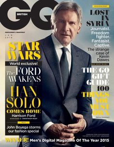 Harrison Ford - GQ Magazine - January 2016