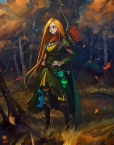 Dota Characters Illustrated in Disney Style - by Igor Artyomenko