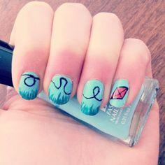 Kite summer nails