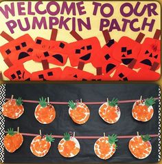 One of our awesome 3 year old teachers, Miss Melissa, has created the cutest Halloween themed bulletin board! Way to go, Miss Melissa!