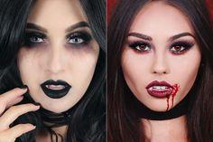 comousar-maquiagem-halloween-vampira