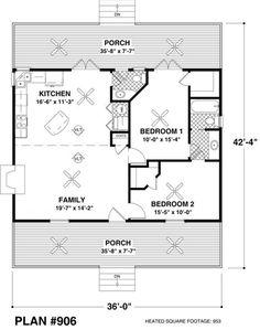 953 sq ft, 2 bed, 1.5 bath