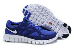 Free Run 2 Mens Shoes Dark Blue