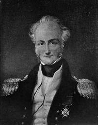 Rear Admiral Sir Charles John Austen, CB, brother of  Jane Austen.  The British Army has always relied on its naval support.  Royal Navy vessels participated in a number of Queen Victoria's little wars.  A veteran of the Napoleonic wars, Rear Admiral Austen commanded a fleet of Royal and Indian Navy vessels in the second Anglo-Burmese war.  Bombardment by his vessels facilitated the capture of Rangoon. Austen died of cholera during the campaign.