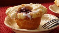 Cherry Danish Biscuit Cups