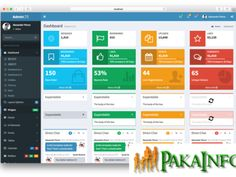 Laravel Admin Panel Example Tutorial From Scratch - Pakainfo Design Tech, Web Design, Web Languages, Admin Panel, Computer Science, Programming, Geek Stuff, Layout, Technology
