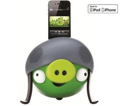 Gear4 Angry Birds Helmet Pig iPad iPod