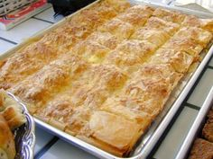 Cheese or Spinach Beoreg made with filo