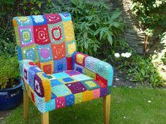 My crochet chair