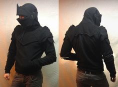 knight armor http://www.etsy.com/pt/listing/158528220/dread-knight-armored-hoodie-size-small?ref=shop_home_active