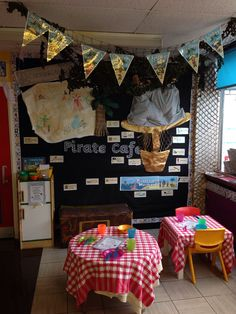 Pirate cafe role play area