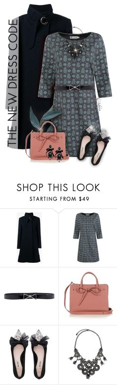 """""""246. Put a Bow on It!"""" by xiandrina ❤ liked on Polyvore featuring Chloé, Seasalt, Trilogy, Armani Jeans, Mansur Gavriel, Miu Miu, Lydell NYC, Dsquared2 and bows"""