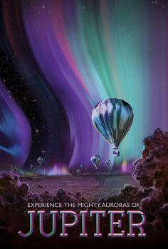 Nasa's Experience the Mighty Aurora of Jupiter