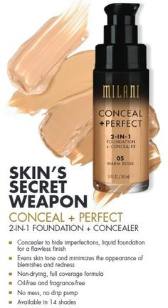 01 Creamy Vanilla. Complete List of All Milani Spring 2016 Product Launches | Nouveau Cheap