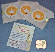 Little Prince Party invitation