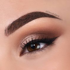 Trendy birthday makeup looks eyeshadows make up ideas Denitslava Makeup, Makeup Eye Looks, Cute Makeup, Simple Makeup, Makeup Inspo, Eyeshadow Makeup, Makeup Brushes, Makeup Ideas, Eyeshadows