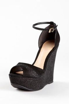 Shimmer Wedge Sandal