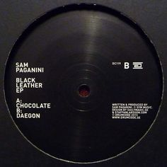 "Sam Paganini ‎– Black Leather EP 12"" Drumcode ‎– DC119"