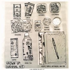 Grown up Survival Kit - self care