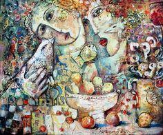 "Saatchi Online Artist Vasily Martynchuk; Painting, ""Vasily Martynchuk, Hope"" #art"