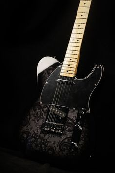 Fender Mex FSR Black Paisley.