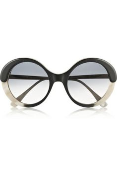 Marni - Round-frame acetate sunglasses