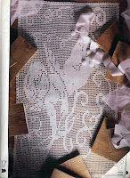 """Филейное вязание: Вязаная картина """"Амур"""""""