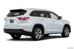 2016 Toyota Highlander Limited 4dr SUV in Blizzard Pearl