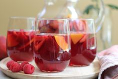 We are halfway through the summer and I can't believe I haven't made a cocktail or sangria yet for you guys. Peaches and berries and some of my favorite seasonal summer fruits so I love making drin...