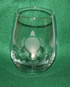 NEWPersonalized Etched STEMLESS Wine Glass by TheWeekendCrafter, $6.00