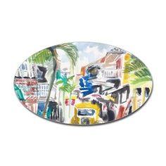 St Maarten Alley Decal