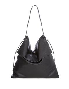 RICK OWENS Large Crossbody Hobo