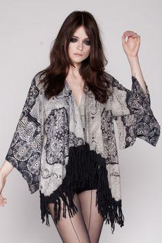 Hippie kimono available from MAPAYA.PL #hippie #boho #kimono #handmade #unique