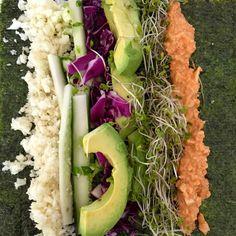No-Rice Veggie SUSHI! - Rachel Brathen